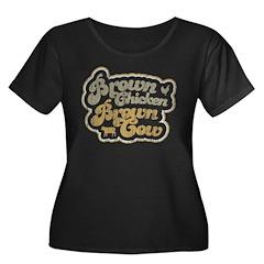 Brown Chicken Brown Cow T