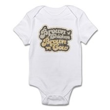 Brown Chicken Brown Cow Infant Bodysuit