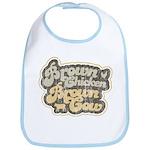 Brown Chicken Brown Cow Bib