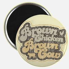 Brown Chicken Brown Cow Magnet