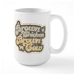Brown Chicken Brown Cow Large Mug