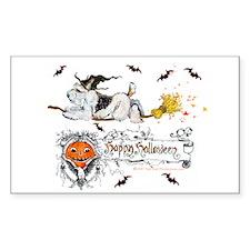 Halloween Fox Terrier Decal