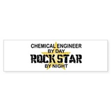 Chemical Engineer Rock Star by Night Bumper Sticker