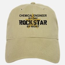 Chemical Engineer Rock Star by Night Baseball Baseball Cap