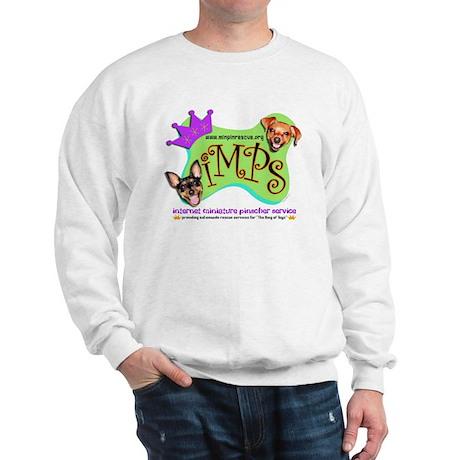 IMPS Smiley Dogs Sweatshirt-NOBACK