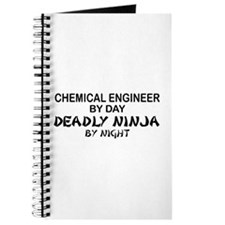 Chemical Engineer Deadly Ninja by Night Journal