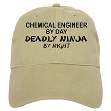 Chemical Engineer Deadly Ninja by Night Baseball Cap