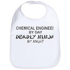 Chemical Engineer Deadly Ninja by Night Bib