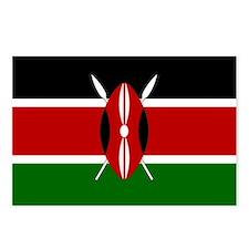 Flag of Kenya Postcards (Package of 8)