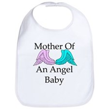 Mother of an Angel Baby Bib