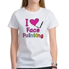 I Love Face Painting Tee