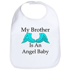 My Brother is an Angel Baby Bib