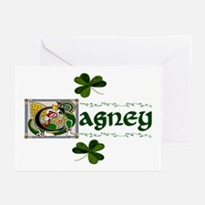 Cagney Celtic Dragon Greeting Cards (Pk of 10)