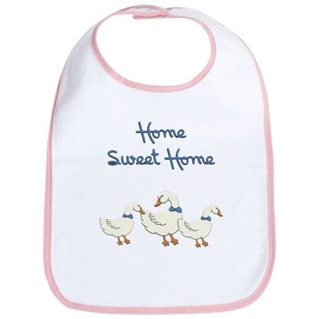 Home Sweet Home Bib