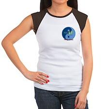 KazTouch Women's Cap Sleeve T-Shirt