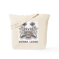 Vintage Sierra Leone Tote Bag