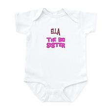 Ella - The Big Sister Infant Bodysuit