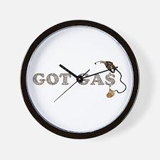 GOT GAS? Wall Clock