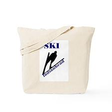 Ski Indianhead Tote Bag