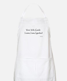 I geeked -  BBQ Apron