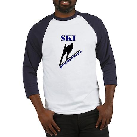 Ski Powderhorn Baseball Jersey