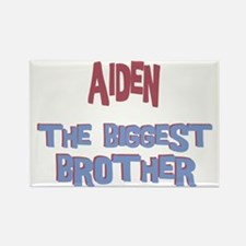 Aiden - The Biggest Brother Rectangle Magnet
