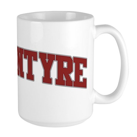 MCINTYRE Design Large Mug