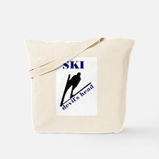 Ski Devil's Head Tote Bag