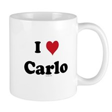 I love Carlo Small Mug