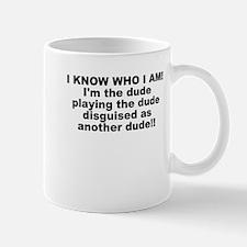 I'M THE DUDE Small Small Mug