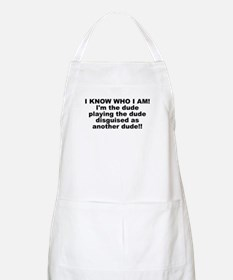 I'M THE DUDE BBQ Apron
