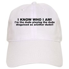 I'M THE DUDE Baseball Baseball Cap