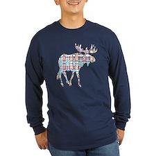 Plaid Moose T