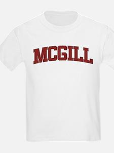 MCGILL Design T-Shirt