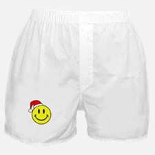 Smile (Santa Hat) Boxer Shorts