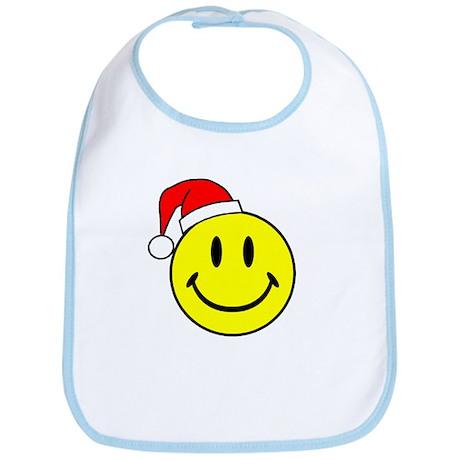 Smile (Santa Hat) Bib