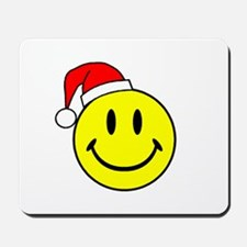 Smile (Santa Hat) Mousepad