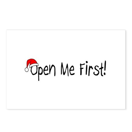 Open Me First Postcards (Package of 8)