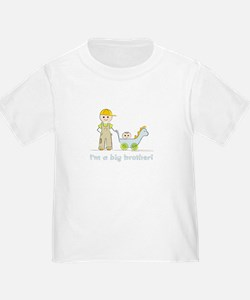 I'm a Big Brother Toddler T-shirt: Baby Brother