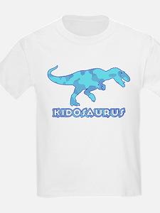 Blue Camo T-Rex Dinosaur T-Shirt