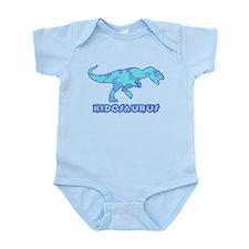 Blue Camo T-Rex Dinosaur Infant Bodysuit