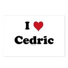 I love Cedric Postcards (Package of 8)