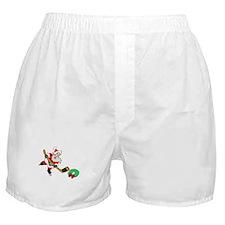 Hockey Santa Boxer Shorts