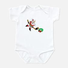Hockey Santa Infant Bodysuit