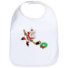 Hockey Santa Bib