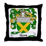Remy Family Crest Throw Pillow