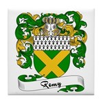 Remy Family Crest Tile Coaster