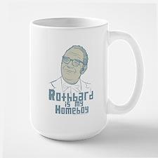 Rothbard Is My Homeboy Large Mug