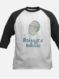 Rothbard Is My Homeboy Kids Baseball Jersey
