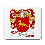 Renard Family Crest Mousepad